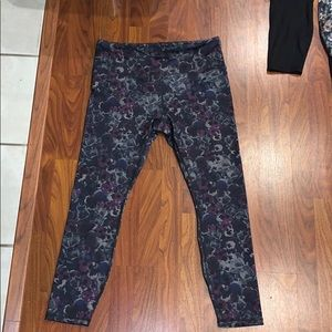RBX Midnight floral leggings